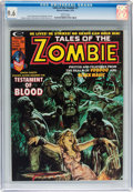 Magazines:Horror, Tales of the Zombie #7 (Marvel, 1974) CGC NM+ 9.6 White pages....