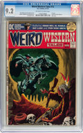 Bronze Age (1970-1979):Horror, Weird Western Tales #12 (DC, 1972) CGC NM- 9.2 Off-white to whitepages....
