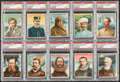 "Non-Sport Cards:Sets, 1910 T118 Hassan ""World's Greatest Explorers"" Partial Set (10/25)...."