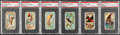 Non-Sport Cards:Lots, 1880's Allen & Ginter Birds Theme Tobacco Card PSA-Graded Group(6). ...