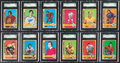 Hockey Cards:Lots, 1972 Topps Hockey High Grade SGC Collection (35). ...