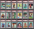 Hockey Cards:Lots, 1975 Topps Hockey Collection (18) - All Graded PSA Mint 9!...
