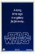 "Movie Posters:Science Fiction, Star Wars (20th Century Fox, 1977). One Sheet (27"" X 41"") AdvanceStyle B.. ..."