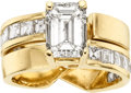 Estate Jewelry:Rings, Diamond, Gold Ring Set. ...