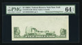 Error Notes:Obstruction Errors, Fr. 1970-B $5 1969A Federal Reserve Note. PMG Choice Uncirculated 64 EPQ.. ...