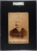 Baseball Cards:Singles (Pre-1930), 1888/89 N173 Old Judge Cabinet Cap Anson SGC 10 Poor 1 - ExtremelyRare Linear Copy Variation! ...