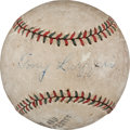 Autographs:Baseballs, Circa 1930 Tony Lazzeri Single Signed Baseball....