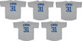 Baseball Collectibles:Uniforms, Fergie Jenkins Signed Chicago Cubs Jerseys Lot of 5. ...