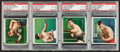 Boxing Cards:General, 1910 T218 Hassan Champions PSA-Graded Group of (4). ...