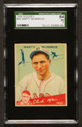 Baseball Cards:Singles (1930-1939), 1934 Goudey Marty McManus #80 SGC 84 NM 7....