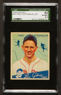Baseball Cards:Singles (1930-1939), 1934 Goudey Fred Ostermueller #93 SGC 82 EX/NM+ 6.5....