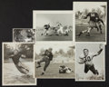 Football Collectibles:Photos, 1930's-40's Green Bay Packers Original Photographs Lot of 6 - With Hinkle, Isbell, etc....