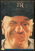 "Baseball Collectibles:Publications, 1962 Casey Stengel Signed Hardcover ""Casey at the Bat"" Book. ..."