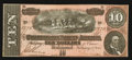 Confederate Notes:1864 Issues, T68 $10 1864 PF-33 Cr. 549A.. ...