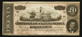 Confederate Notes:1864 Issues, T67 $20 1864 PF-7 Cr. 508.. ...