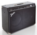 Musical Instruments:Amplifiers, PA, & Effects, 2004 Fender FM212R Black Guitar Amplifier, Serial # CAX04Q0311....