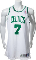 Basketball Collectibles:Uniforms, 1994-95 Dee Brown Game Worn Boston Celtics Jersey - MEARS A10....