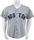 Baseball Collectibles:Uniforms, 1980 Jim Rice Game Worn Boston Red Sox Jersey Sourced From Former Bat Boy With LOA. ...