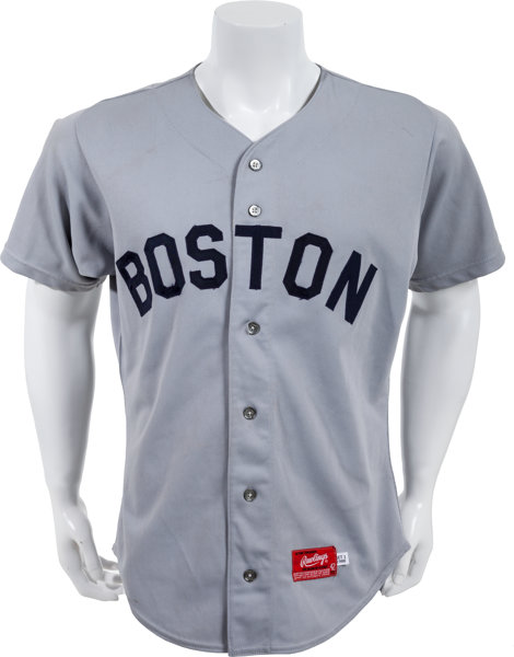 huge discount 555ad d6097 1988 Wade Boggs Game Worn Boston Red Sox Jersey ...