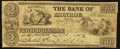 Obsoletes By State:Michigan, Monroe, MI- The Bank of Monroe $2 Oct. 1, 1835. ...