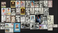Autographs:Photos, Baseball Greats Signed Photographs and Postcards Lot Of35+(Including Mantle And Koufax)...