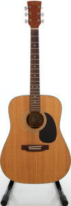 Musical Instruments:Acoustic Guitars, 1990s Ibanez PF5N Performance Natural Acoustic Guitar, Serial # 293024568....