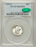 Mercury Dimes: , 1929-S 10C MS65 Full Bands PCGS. CAC. PCGS Population (141/150).NGC Census: (34/31). Mintage: 4,730,000. Numismedia Wsl. P...