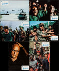 "Movie Posters:War, Apocalypse Now (United Artists, 1979). Spanish Lobby Card Set of 12(9.25"" X 13.25"") & Program (Multiple Pages, 7"" X 11""). W...(Total: 13 Items)"