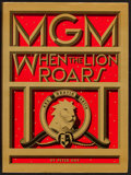 "Movie Posters:Documentary, MGM: When the Lion Roars (Turner Publishing, 1991). Hardbound Book (335 Pages, 9"" X 12""). Miscellaneous.. ..."