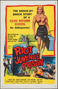 "Movie Posters:Crime, Riot in Juvenile Prison (United Artists, 1959). One Sheet (27"" X41"") & Lobby Card Set of 8 (11"" X 14""). Crime.. ... (Total: 9Items)"