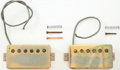 Musical Instruments:Miscellaneous, 1970s Gibson Paten Number Gold Electric Guitar Pickups....