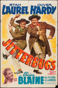 "Movie Posters:Comedy, Jitterbugs (20th Century Fox, 1943). One Sheet (27"" X 41""). Comedy.. ..."