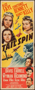 "Movie Posters:Drama, Tail Spin (20th Century Fox, 1938). Insert (14"" X 36""). Drama.. ..."