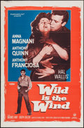 "Movie Posters:Drama, Wild is the Wind (Paramount, 1957). One Sheet (27"" X 41""). Drama.. ..."