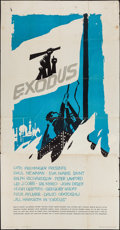 "Movie Posters:Drama, Exodus (United Artists, 1960). Three Sheet (41"" X 78""). Drama.. ..."