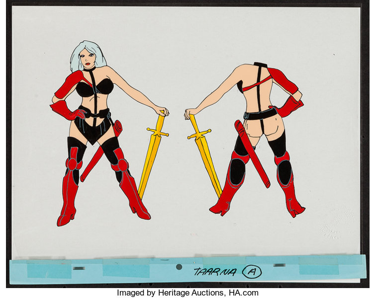 Heavy Metal Columbia 1981 Color Test Animation Cel 10 5 X Lot 53209 Heritage Auctions