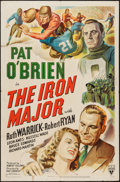 "Movie Posters:Sports, The Iron Major (RKO, 1943). Autographed One Sheet (27"" X 41""). Sports.. ..."