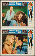 "Movie Posters:Bad Girl, Kitten with a Whip (Universal, 1964). Lobby Cards (2) (11"" X 14"").Bad Girl.. ... (Total: 2 Items)"