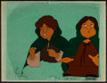 "Movie Posters:Animation, The Lord of the Rings (United Artists, 1978). Animation Cels (2) (10.5"" X 12.5"") ""Frodo"" & ""Sam."" Animation.. ... (Total: 2 Items)"