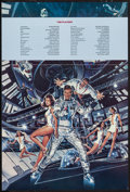 "Movie Posters:James Bond, Moonraker (United Artists, 1979). Program (12"" X 18""). James Bond....."
