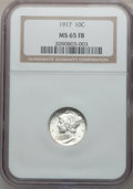 Mercury Dimes: , 1917 10C MS65 Full Bands NGC. NGC Census: (97/47). PCGS Population(197/92). Mintage: 55,230,000. Numismedia Wsl. Price for...