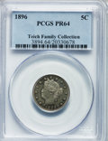 Proof Liberty Nickels: , 1896 5C PR64 PCGS. PCGS Population (213/94). NGC Census: (143/141).Mintage: 1,862. Numismedia Wsl. Price for problem free ...