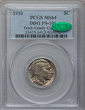 Buffalo Nickels: , 1930 5C MS64 PCGS. CAC. DDO FS-101. PCGS Population (820/1387). NGCCensus: (523/503). Mintage: 22,849,000. Numismedia Wsl....