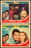 "Movie Posters:Drama, Only Angels Have Wings (Columbia, 1939). Lobby Cards (2) (11"" X14"").. ... (Total: 2 Items)"