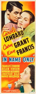 "Movie Posters:Romance, In Name Only (RKO, 1939). Insert (14"" X 36"").. ..."