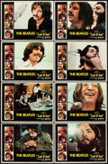 "Movie Posters:Rock and Roll, Let It Be (United Artists, 1970). Lobby Card Set of 8 (11"" X 14"")..... (Total: 8 Items)"