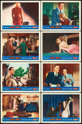 """Movie Posters:Hitchcock, Dial M for Murder (Warner Brothers, 1954). Lobby Card Set of 8 (11""""X 14"""").. ... (Total: 8 Items)"""