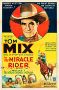 """Movie Posters:Serial, The Miracle Rider (Mascot, 1935). One Sheet (27"""" X 41""""). Chapter 1-- """"The Vanishing Indian."""". ..."""