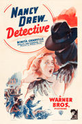"Movie Posters:Mystery, Nancy Drew, Detective (Warner Brothers, 1938). One Sheet (27"" X41"").. ..."