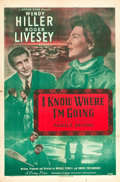 "Movie Posters:Romance, I Know Where I'm Going (Universal-International, 1947). One Sheet(27"" X 41"").. ..."